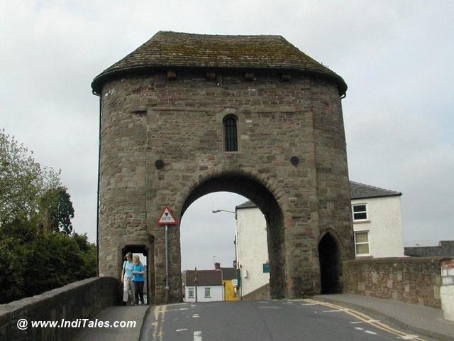 Monnow Bridge Tower at Monmouth