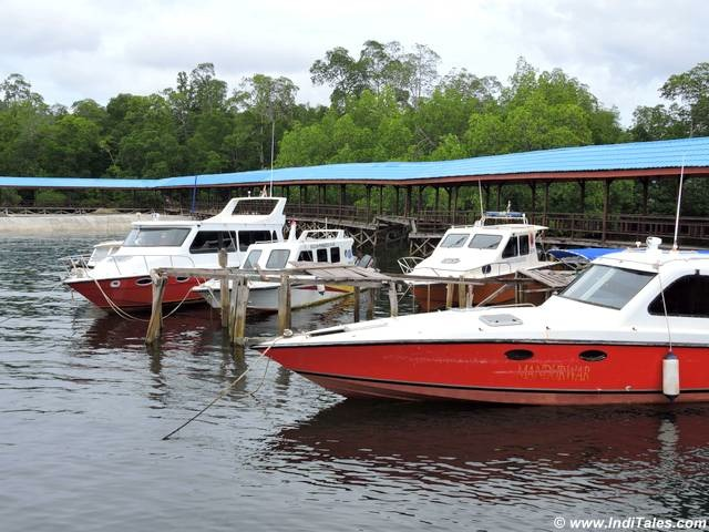 Speed Boats - the vehicles of the Raja Ampat Islands