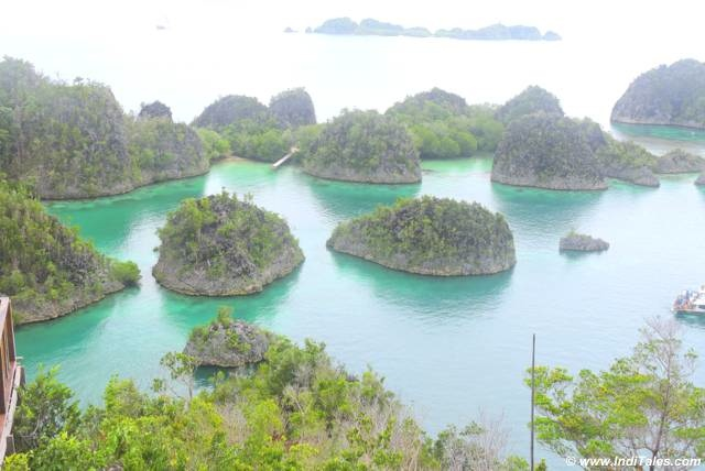Laguna Bintang or the Pianemo Islands of Raja Ampat