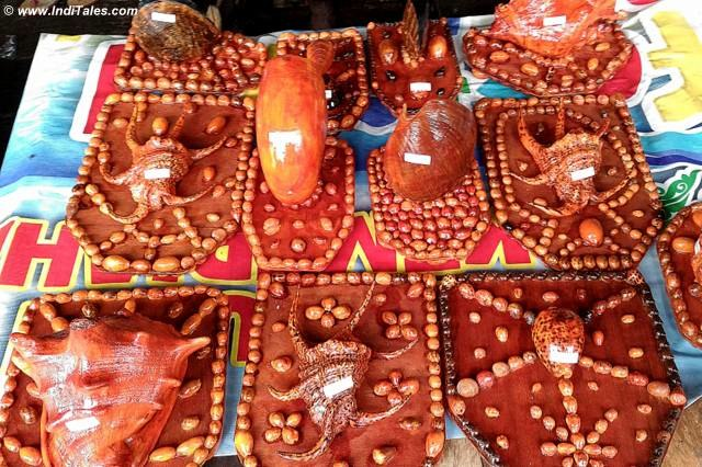 Shell souvenirs from Raja Ampat