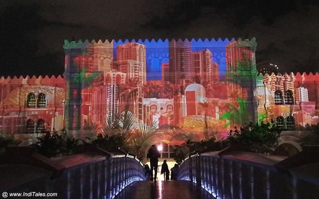 Light Show at Al Qasba Mall