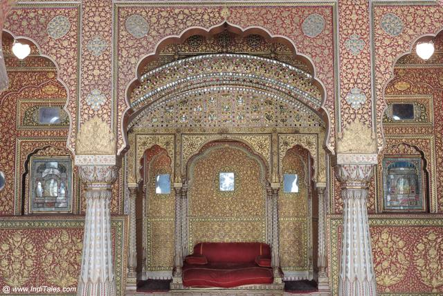 Anup Mahal one of the most ornate palaces