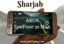 Sharjah with Asus Zenfone 3s Max