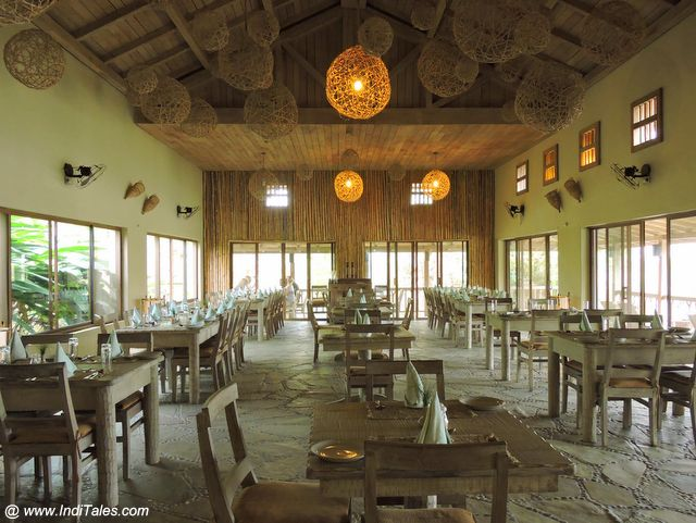 Dining Hall at Barahi Jungle Lodge - Nepal