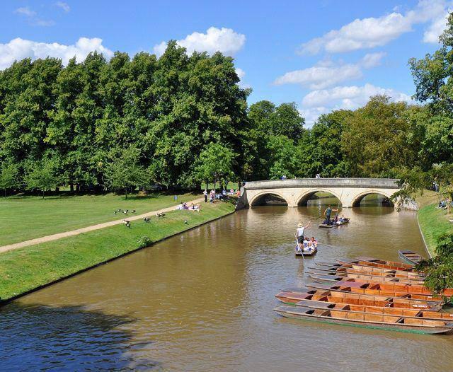 Punting - Cam in Cambridge