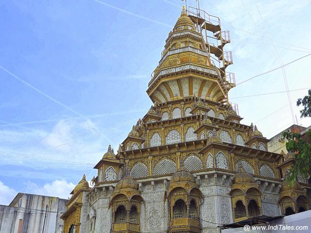 Dagdusheth Ganapati Temple Shikhara - Pune