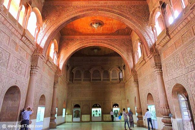 The Majestic Durbar Hall of Junagadh Fort