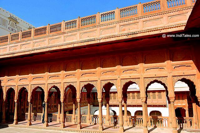 First floor of Junagadh Fort - Bikaner