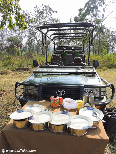 Dining table in the Jungle - Chitwan National Park