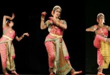 Haleem Khan performing Kuchipudi