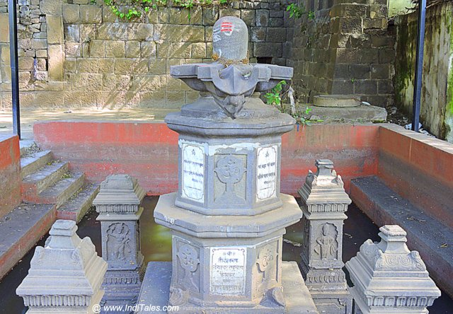 Shivalinga on the banks of Mula River, a Peshwa Heritage of Pune