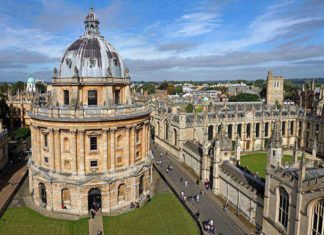 The famous Oxford Library