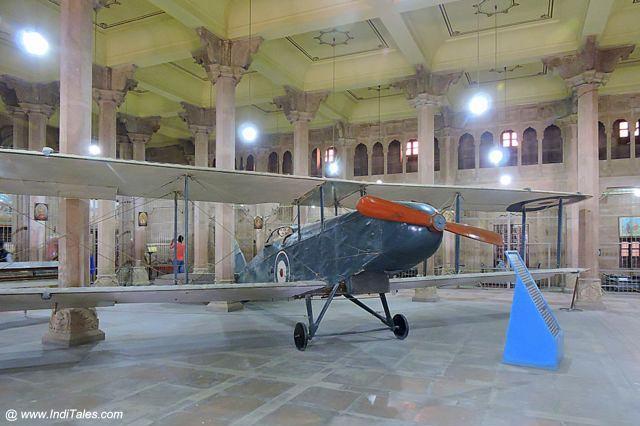 World War I plane - reassembled at Junagadh Fort - Bikaner
