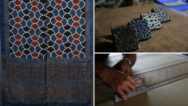 Ajrakh Prints from Kutch in Gujarat
