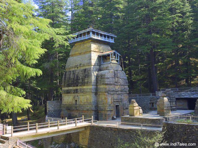 The Dandeshwar Temple at Jageshwar Dham
