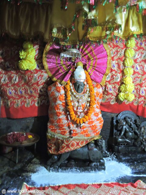 Devi Idol at the Dham