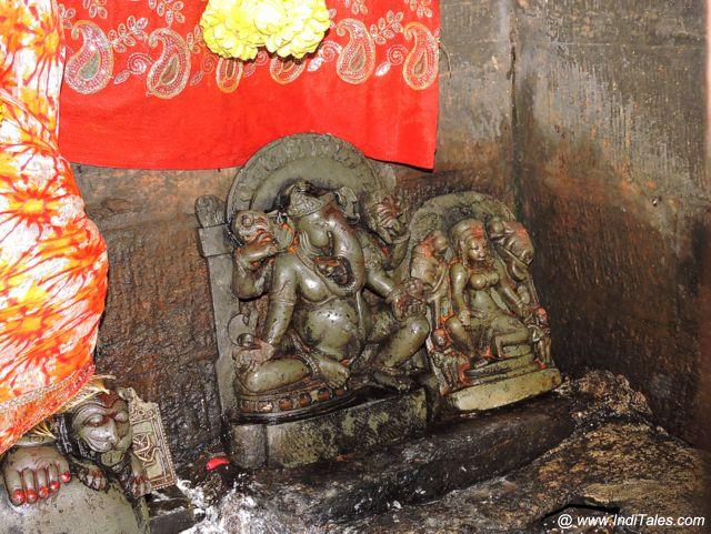 Lord Ganesh and Parvati Idols at Jageshwar Dham