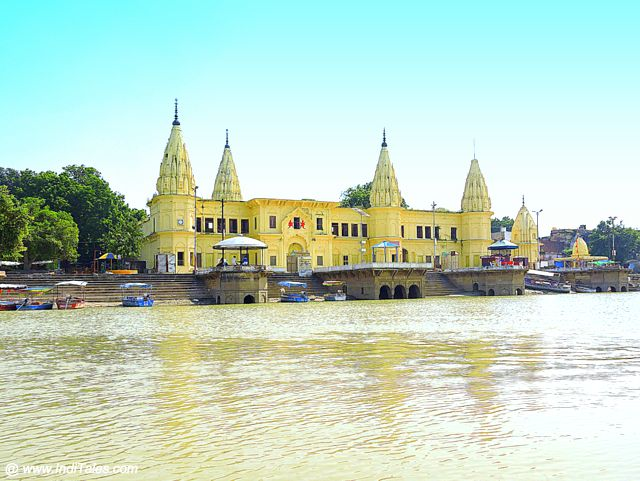 Guptar Ghat on banks of Saryu, Faizabad
