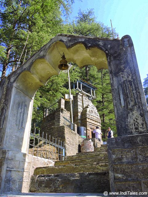 The Kuber Temple at Jageshwar