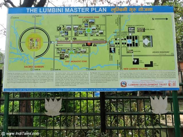 लुम्बिनी का मास्टर प्लान