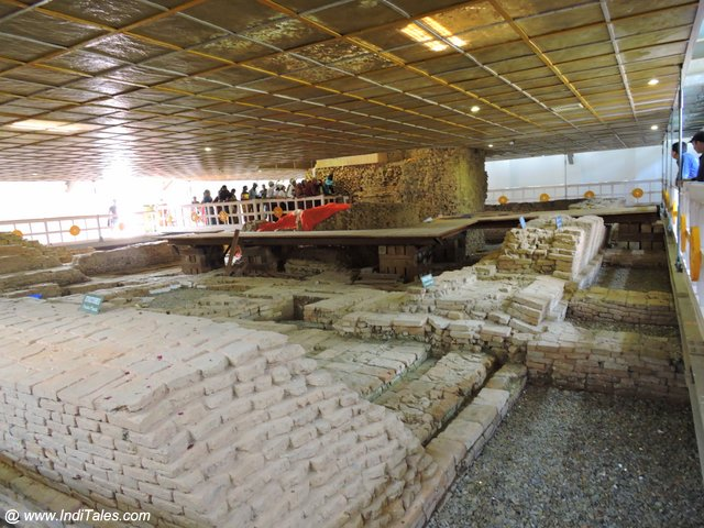 Inside Maya Devi Temple - Lumbini