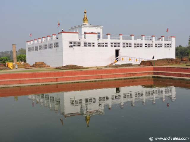 Maya Devi Temple at Lumbini Garden