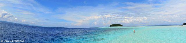 Pasir Timbul - Panorama view