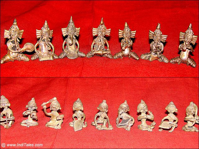 Our Collection of Miniature Dokra Art from Bengal