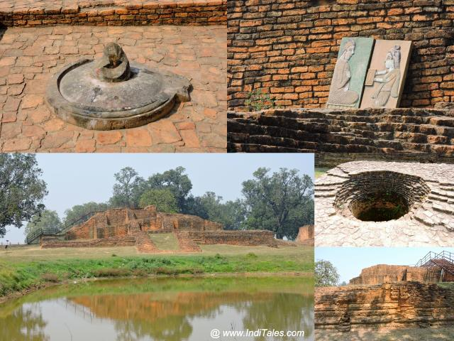 Lake, Stupas, Well at Kudan