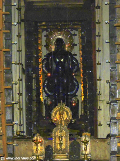 Parshavnath Idol at Guru Basadi - Moodbidri