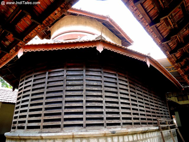 Ancient Gowri Temple in Kerala style Architecture - Moodbidri
