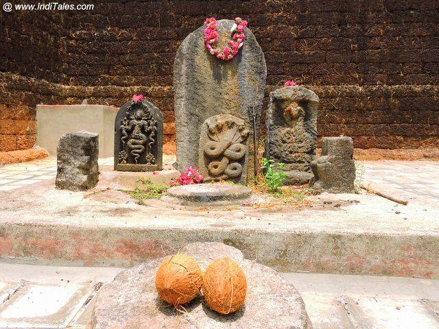 Nagas at Vikram Shetty Basadi - Moodbidri