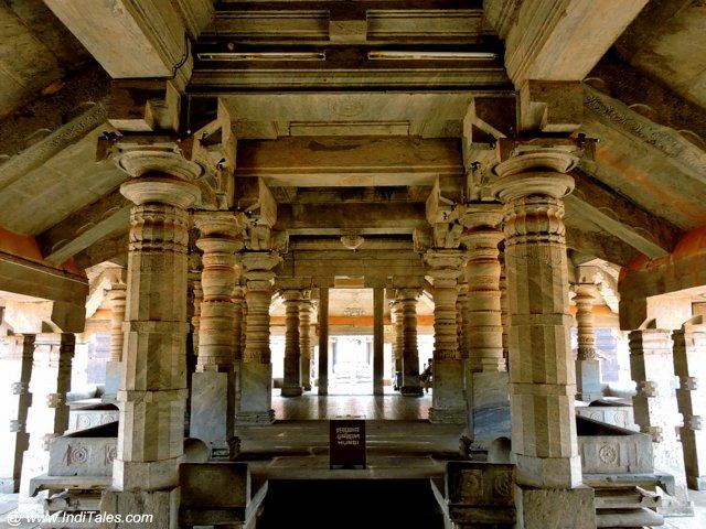 Mandapa of Thousand Pillar Temple
