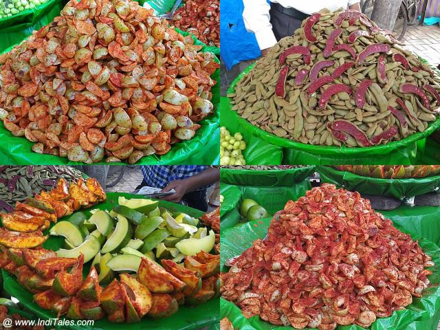 Masala Fruits on Pune Streets  - Street Food in Pune