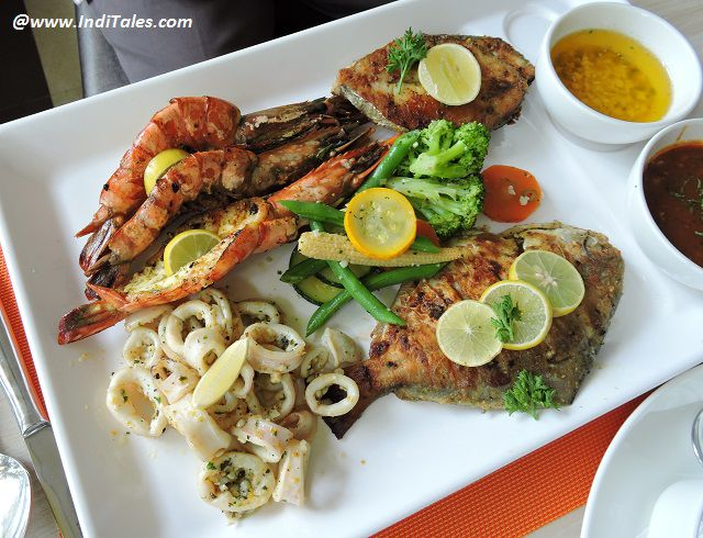 Seafood Platter that everyone loves in Goa