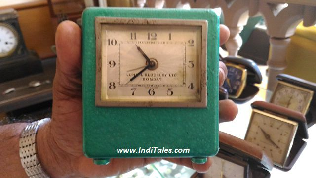 An old 'Made in India' watch at Back in Time Museum in the village
