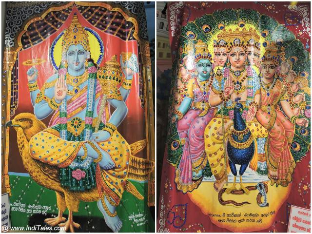 Vishnu & Karthikeyan at Buddhist Temples in Sri Lanka