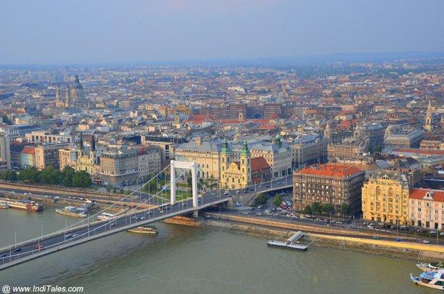 River Danube landscape view
