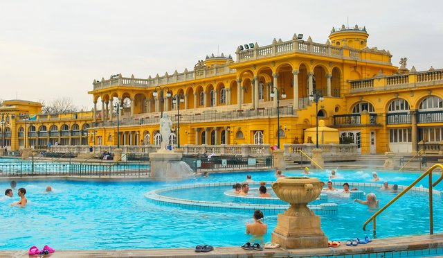 Thermal Baths - Budapest