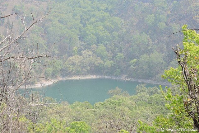 Garuda Tal or Lake. One of the seven lakes of Sattal