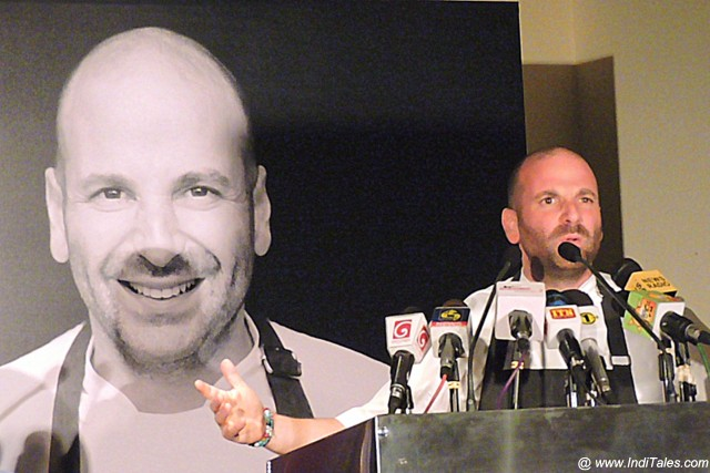 George Calombaris in Colombo