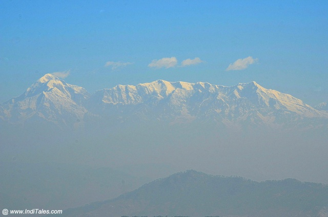 Himalayan peaks view from Mukteshwar