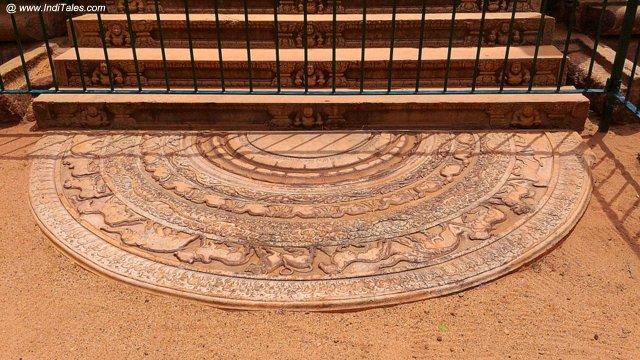 Moonstone - Anuradhapura