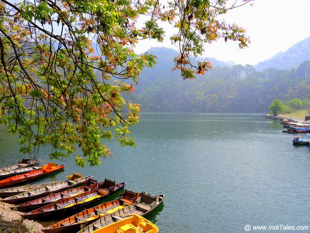 Naukuchiatal lake landscape