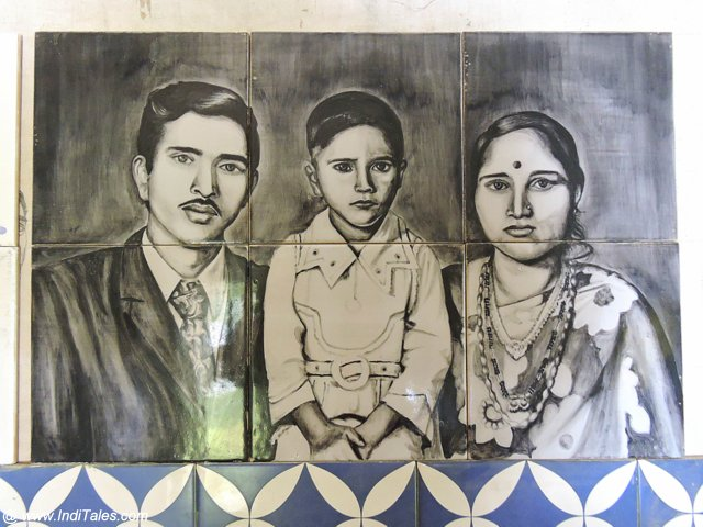 A Family Portrait on Azulejos