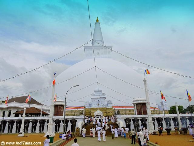 Ruwanaweli Seya - Mahathupa - Anuradhapura