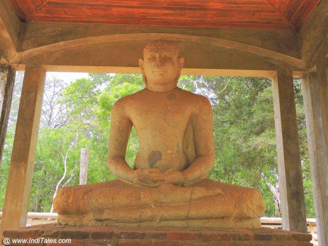 Samadhi Buddha - Anuradhapura