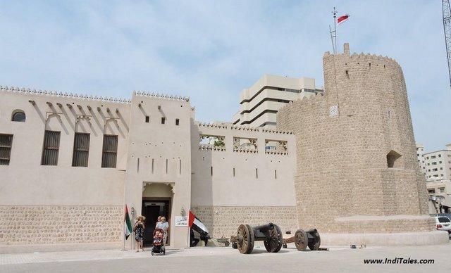 Landscape view of Al Hisn Fort Museum