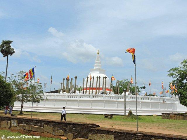 Thuparama Stupa - Anuradhapura
