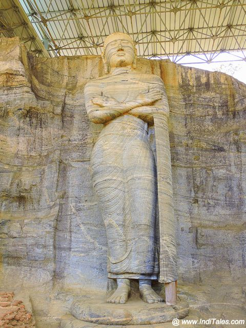 Is it Buddha or Ananda - Gal Vihara - Polonnaruwa